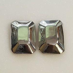 Modernist TAXCO Sterling Earrings Pierced